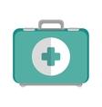 emergency kit box vector image