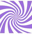 purple spiral design background vector image vector image