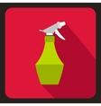 Sprayer bottle icon flat style vector image