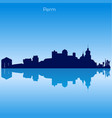 skyline of perm russia vector image