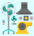 air conditioner airlock systems equipment vector image vector image