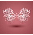 Beautiful Masquerade Mask vector image vector image