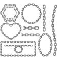 chain frames vector image vector image