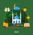 religions colored composition vector image