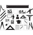 School and education vector image