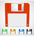 a floppy disk vector image