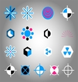 Collection of Colorful Icon Element vector image vector image