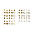 golden glitter online shopping review feedback vector image vector image