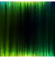 Green shining equalizer abstract background vector image vector image
