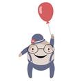 Happy Humpty Dumpty Cartoon vector image vector image