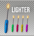 lighter corporate light accessory 3d vector image vector image