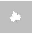 Maple Leaf computer symbol vector image