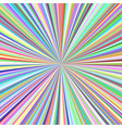 radial stripes background - ray burst graphic vector image vector image