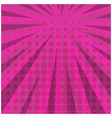 abstract bright pink square retro comic background vector image vector image