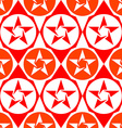 abstract seamless diamond pattern with stars vector image vector image
