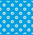 coins wont pattern seamless blue vector image vector image