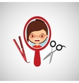 hairdressing salon design vector image