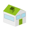 house exterior isolated icon design vector image vector image