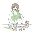 Maternity Diet vector image vector image
