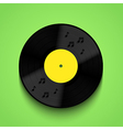 old vinyl record background eps10 vector image