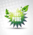 pure symbol vector image
