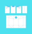 stock template box for milk vector image