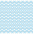 wave line and wavy zigzag pattern vector image vector image