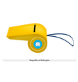 A Whistle of The Republic of Kalmykia vector image vector image