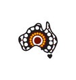 aboriginal art dots painting with using