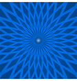 Abstract background with spiral blue rays vector image