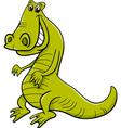 crocodile animal character vector image