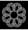 Flower-like Celtic knot vector image vector image
