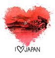 Hand drawn sketch Japanese vector image