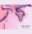 motion pink violet liquid splash background fluid vector image vector image