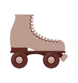 retro skate isolated icon design vector image vector image