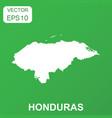 honduras map icon business concept honduras vector image vector image
