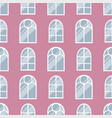 house windows elements flat style glass frames vector image vector image