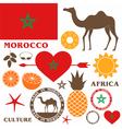 Morocco Camel vector image vector image