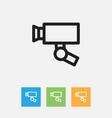 of trade symbol on guard vector image vector image