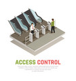 pay gate control background vector image