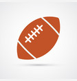 american football colored ball vector image