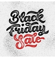 Black Friday Sale Lettering Badge vector image vector image