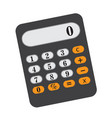 calculator icon flat cartoon style isolated vector image vector image