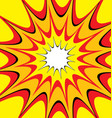 comic explosion background vector image vector image