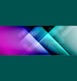 dynamic lines abstract background 3d shadow vector image vector image