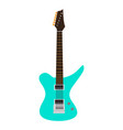 electric guitar icon musical instrument vector image vector image