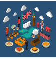 Great Britain Concept Composition vector image vector image