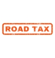 Road Tax Rubber Stamp vector image vector image