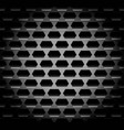 shaded dark background pattern with hexagonal vector image