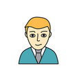 young man avatar icon vector image vector image